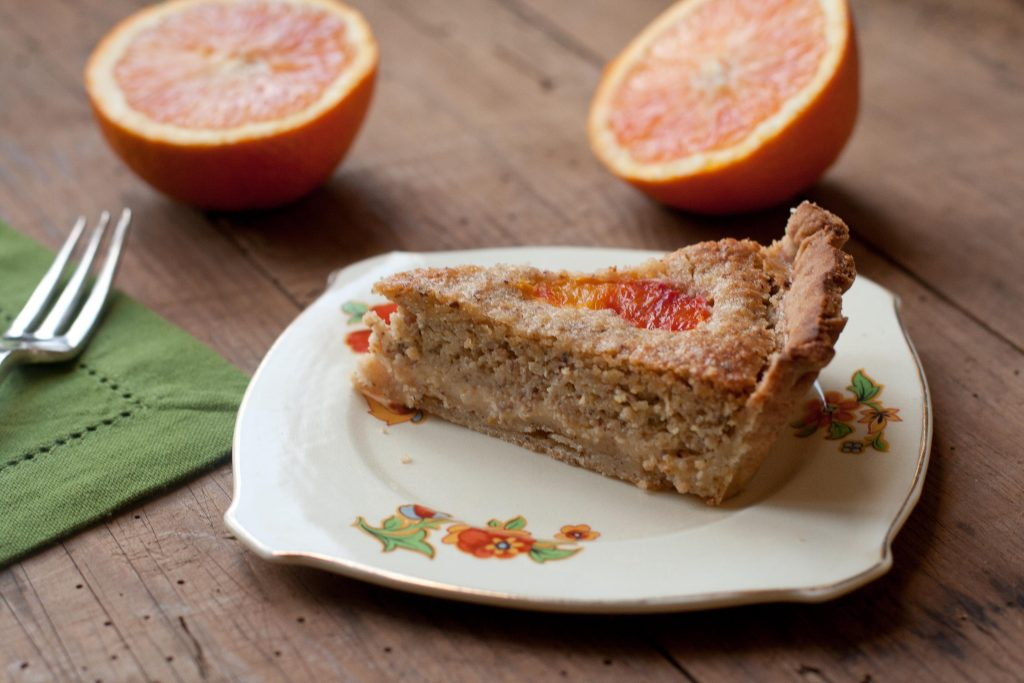 Blood Orange Tart Slice LR