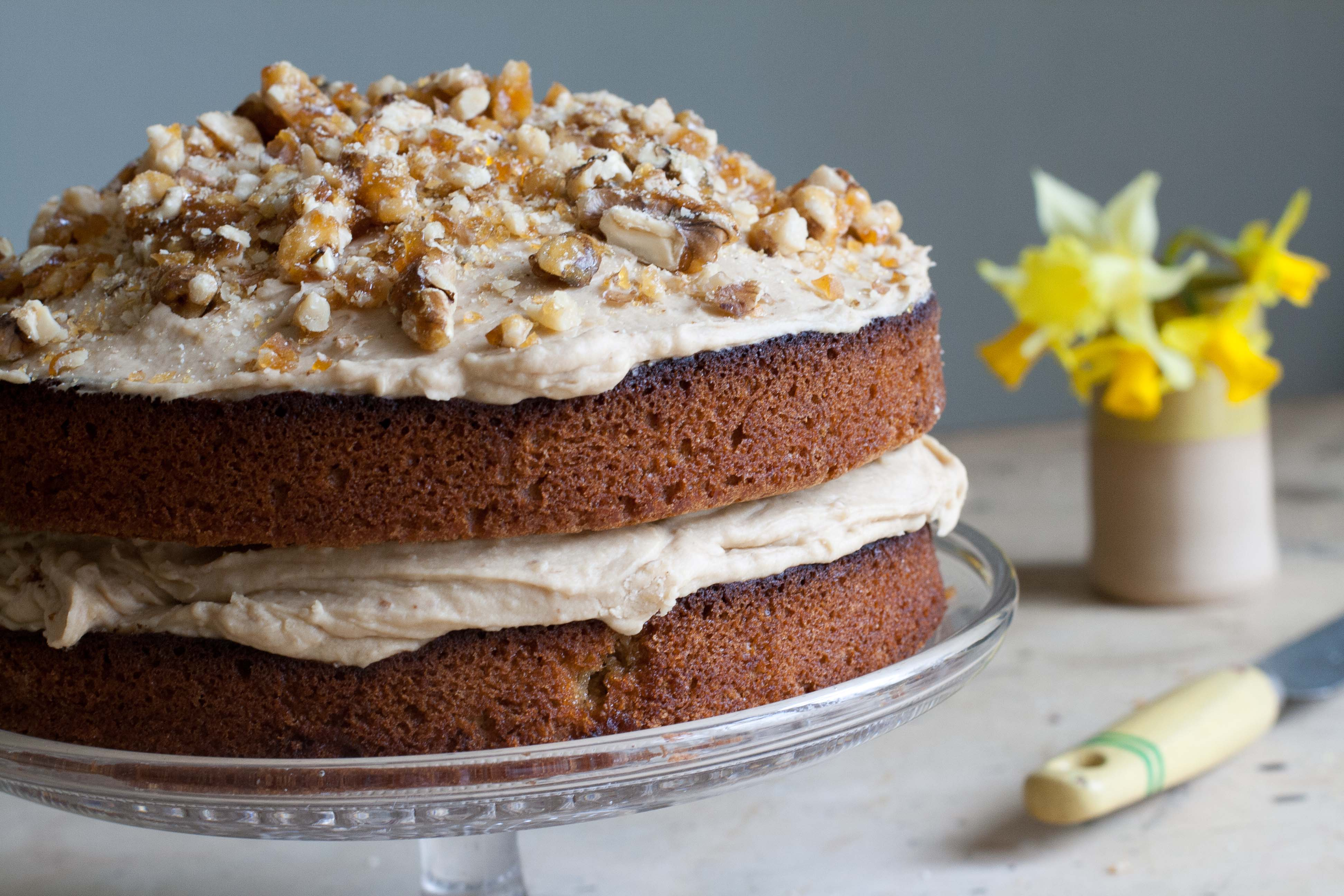 River Cottage Coffee And Walnut Cake